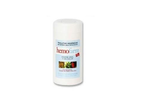 Hemofarm Toallitas para la higiene anal 60 unidades.