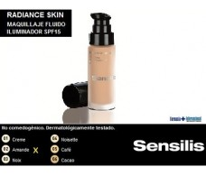 Sensilis Radiance Skin Base fluida SPF15. 02 Amande 30ml.