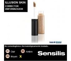 Sensilis Illusion Skin Corrector uniformizador 7,5ml. 02 Moyen.