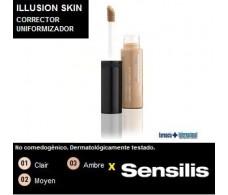 Sensilis Illusion Skin Corrector uniformizador 7,5ml. 03 Ambre.