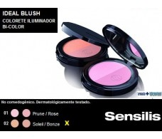 Sensilis Blush Colorete Compacto Bi-color 5 gramos 02 Soleil / B