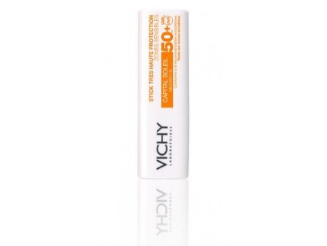 Vichy Capital Soleil Barra Ultraprotección Zonas Sensibles IP50+