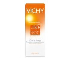 Vichy Capital Soleil Crema Rostro SPF50+ pieles sensibles 50ml.