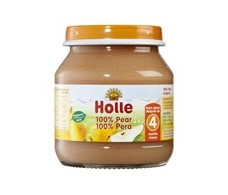 Holle mini potito 100% de pera 125g