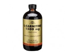 Solgar L-Carnitina Liquida 1500 mg bote 473 ml.