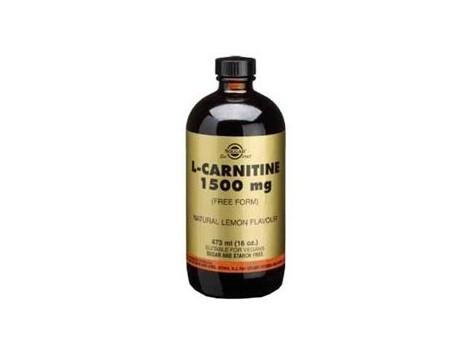 Solgar L-Carnitina Liquida 1500 mg bote 473 ml.