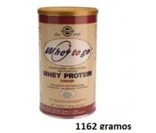 Solgar Whey To Go Proteina de Suero en Polvo Chocolate 1162 gr.