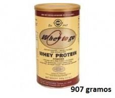 Solgar Whey To Go Proteina de Suero en Polvo Vainilla 907 gramos