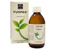 Heliosar Spagyrica Tuspag Jarabe propolis y plantas 250 ml.