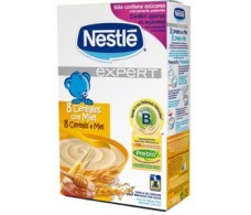 Nestle Expert 8 Cereales con miel 500 gramos.