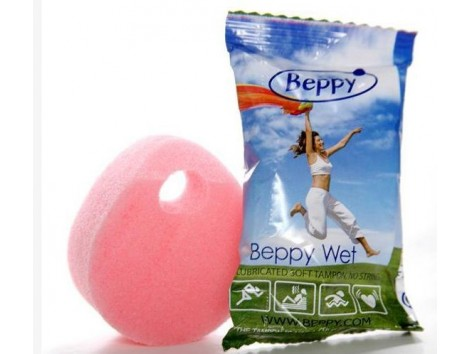 Wet sponge Beppy Menstrual Vaginal lubricant 1 unit.