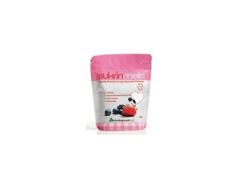 Sukrinmelis  400 gramos.100% Natural (textura al azúcar glasé).