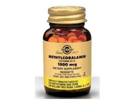 Solgar Metilcobalamina 1000 mcg 30 comprimidos.