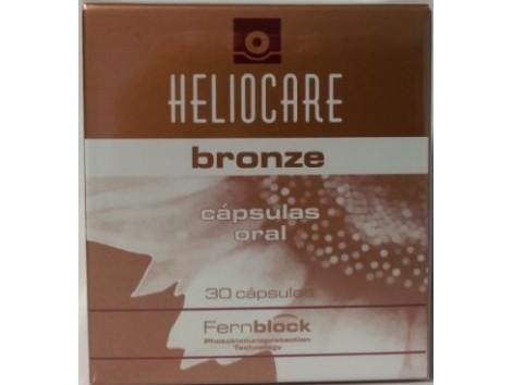 Heliocare Bronze doble acción 30 capsulas. FernBlock