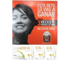 XLS Medical Capta Grasas Súmate al Reto 3 cajas x 60 comprimidos