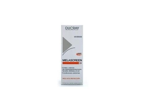 Ducray Melascreen Crema Solar Antimanchas SPF50+, 40ml.