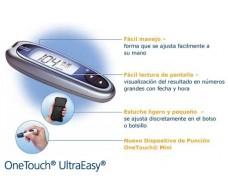 Medidor de glucosa OneTouch Ultraeasy LifeScan