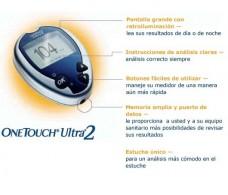 Medidor de glucosa OneTouch Ultra2 LifeScan