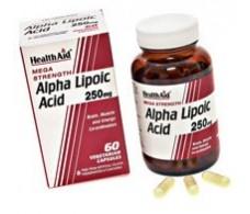 Health Aid Alpha Lipoic Acid. Alpha Lipoic Acid 60 Capsules