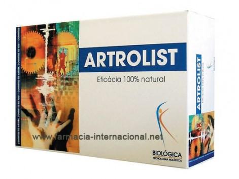 Biological Artrolist 30 ampoules