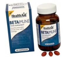 Health Aid 30 capsules Betaimune. Health Aid