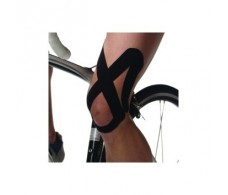K-Active  Rehab Knee Precut black Quadriceps