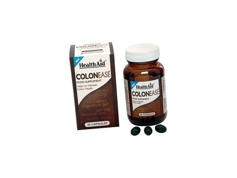 Health Aid 30 capsules Colonease. Health Aid