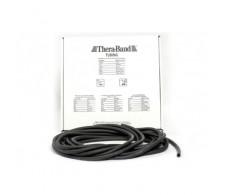 Thera-Band Tubing Rehabmedic (7.5 m) Black Tubing - Strong speci
