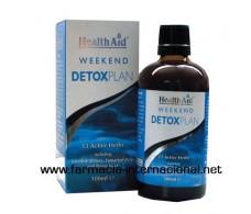 Weekend Detox Plan. Plan purifying weekend. HealthAid