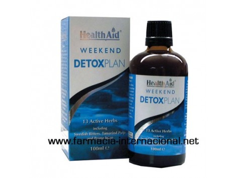 Weekend Detox Plan. Plan purifying weekend. HealthAid