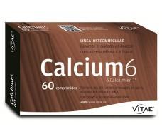 Vitae Calcium 6 60 cápsulas