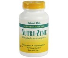 Nature's Plus Nutrizyme 90 comprimidos masticables