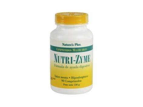 Nature's Plus 90 chewable tablets Nutrizyme