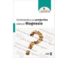 Ana Maria Lajusticia answering questions about Magnesium