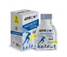 Amlsport Magnesio Total Gel sabor limón 12 sobres bebibles