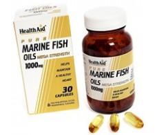 Health Aid aceite de pescado 1000mg. 30 capsulas
