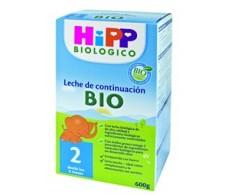 Hipp Leche biológica de continuación 2, 600gr