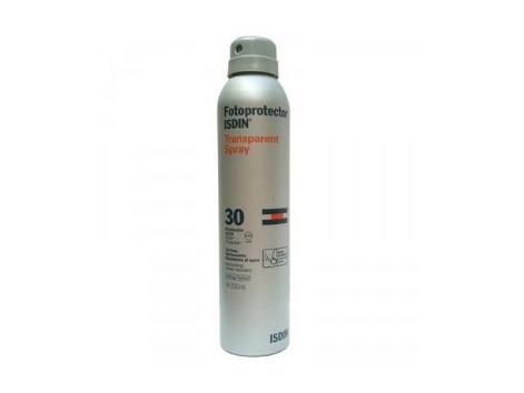 Isdin Transparent Body Sunscreen SPF30 Spray 200ml