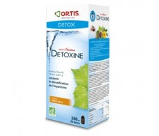 Ortis Metodren Detox sabor melocotón- limón 250 ml