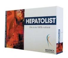 Biologica Hepatolist 30 ampollas 10 ml. Higado y vesicula biliar