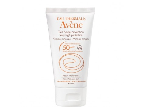 Avene Protection Mineral Face Cream SPF 50 For Tolerance Skin 50