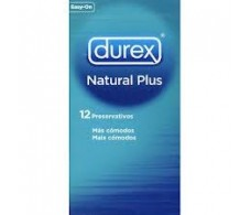 Durex Natural Plus 12 units