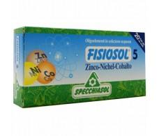 Specchiasol Fisiosol 5 Zinc-Niquel-Cobalto 20amp