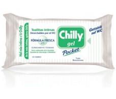 Chilly Toallitas higiene íntima Gel fórmula fresca 12 unidades