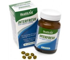 Health Aid Interfresh 60 capsulas. Aliento fresco