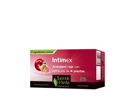 Sante Verte Intimex 7 envelopes