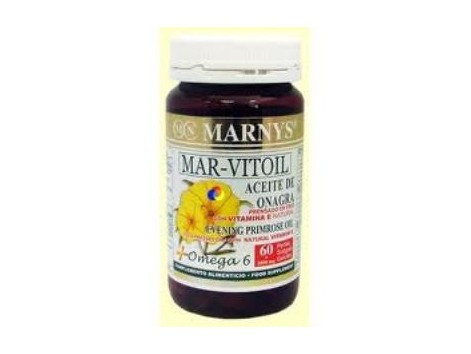 Marny's Evening Primrose Oil 1050mg 60 capsules Mar Vitoil