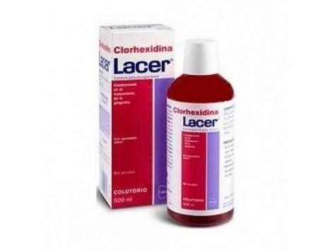 Lacer Lacer Chlorhexidine Mouthwash 500 ml periodontitis