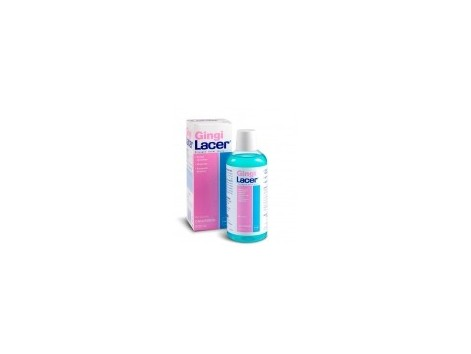 Lacer GingiLacer delicate gums Mouthwash 500 ml