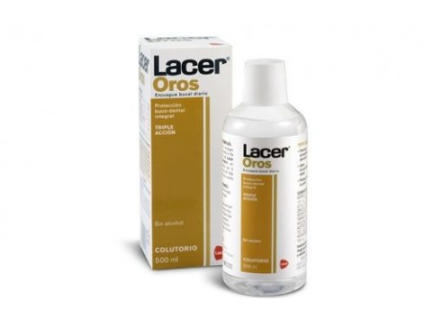 Oros Lacer Mouthwash 500 ml